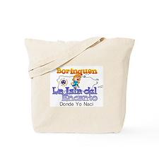 Borinquen La Isla del Encanto Tote Bag