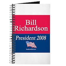 """""""Bill Richardson President"""" Journal"""