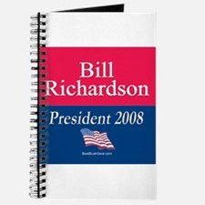 """Bill Richardson President"" Journal"