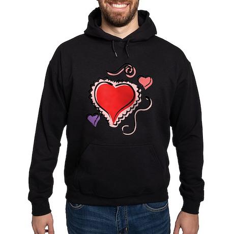 HEARTS {29} Hoodie (dark)