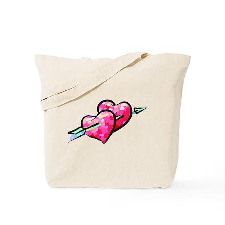 HEARTS $ ARROW {12} Tote Bag