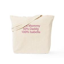 100% Isabella Tote Bag