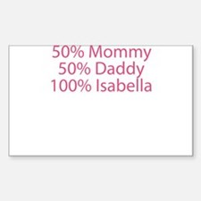 100% Isabella Decal