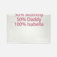 100% Isabella Rectangle Magnet