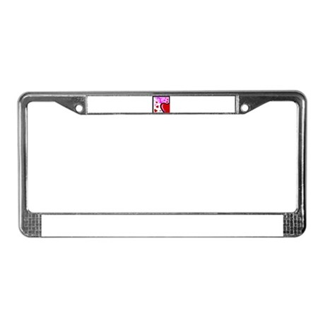 HEARTS & ARROW {13} License Plate Frame