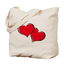 HEARTS {30} : red Tote Bag
