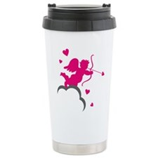 CUPID {16} : pink Travel Coffee Mug