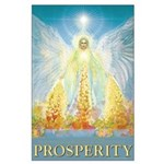 Angel of Abundance Large Poster