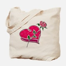 CANDY & ROSE {1} : pink Tote Bag