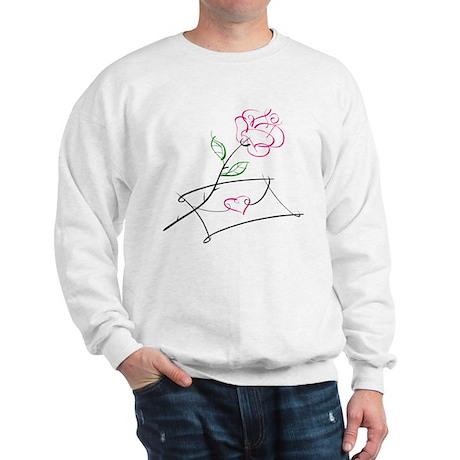 ROSE & VALENTINE {1} : pink Sweatshirt