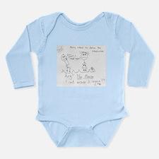 Meff Long Sleeve Infant Bodysuit