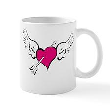 HEART, WINGS & ARROW {1} : pi Mug