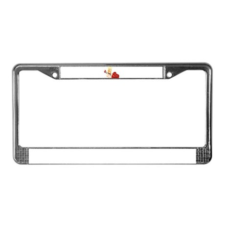 CUPID {20} License Plate Frame
