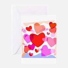 HEARTS {32} Greeting Card