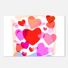 HEARTS {32} Postcards (Package of 8)
