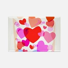 HEARTS {32} Rectangle Magnet