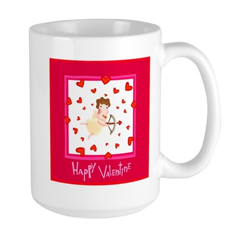 HAPPY VALENTINES Large Mug
