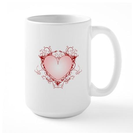 HEART {34} Large Mug