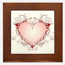 HEART {34} Framed Tile