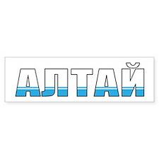 Altai Bumper Sticker