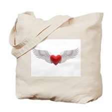 HEART & WINGS {8} Tote Bag