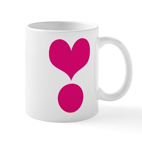 HEART {38} : pink Mug