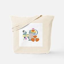 Baby Quackups 3 Tote Bag