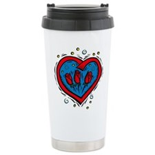 HEART & ROSES Travel Mug