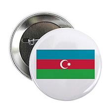 """Azerbaijan Flag 2.25"""" Button"""