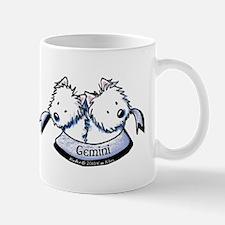 Westie Gemini Mug