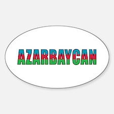 Azerbaijan Sticker (Oval)