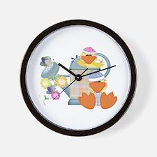 Baby Quackups 3 Wall Clock