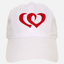 HEARTS {39} : red Baseball Baseball Cap
