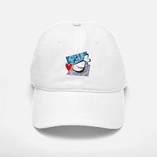 LOVEBIRD {4} Baseball Baseball Cap