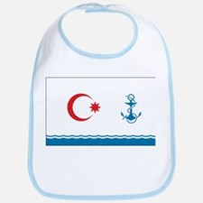 Azerbaijan Naval Ensign Bib