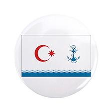"""Azerbaijan Naval Ensign 3.5"""" Button"""