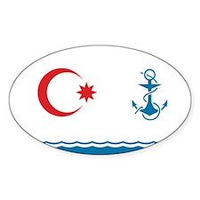 Azerbaijan Naval Ensign Decal