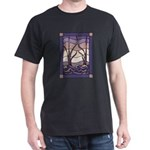 Sunset Marsh black t-shirt
