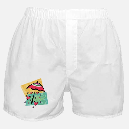 RAINING HEARTS Boxer Shorts