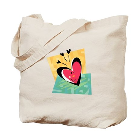 HEART {41} : pink Tote Bag