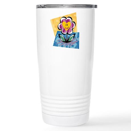 HAPPY FLOWER Stainless Steel Travel Mug