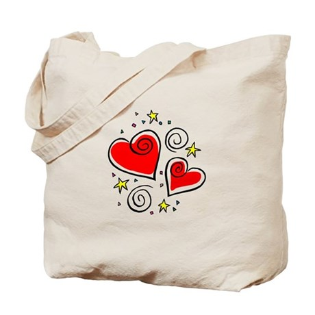 HEARTS & STARS Tote Bag