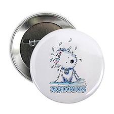 """Aquarius Westie 2.25"""" Button"""