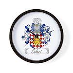 Solari Family Crest Wall Clock