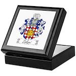 Solari Family Crest Keepsake Box