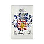 Solari Family Crest Rectangle Magnet (100 pack)