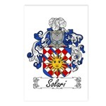Solari Family Crest Postcards (Package of 8)