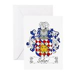 Solari Family Crest Greeting Cards (Pk of 10)