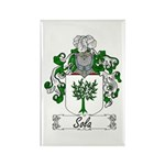 Sola Coat of Arms Rectangle Magnet (100 pack)