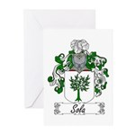 Sola Coat of Arms Greeting Cards (Pk of 10)